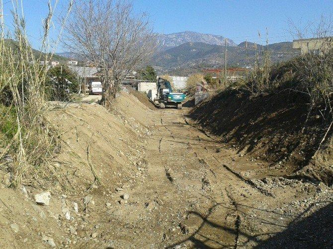 DSİ'den Alanya'da Taşkın Riski Çalışmaları