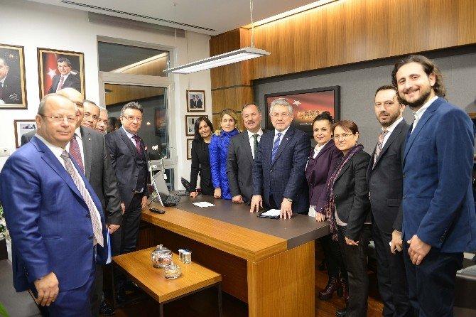 DTO'dan Milletvekillerine Ziyaret