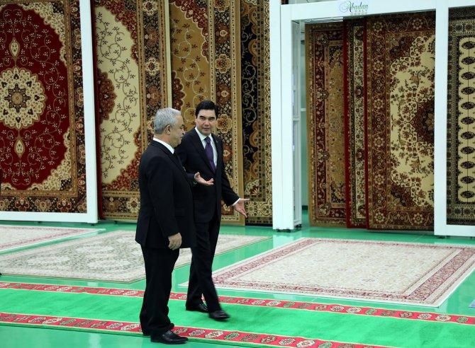 Dünyanın halı ticaretindeki yeni gözdesi: Türkmenistan