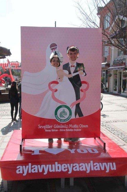 Edirne'de Sevgililer Günü