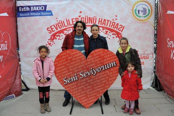 Bozüyük Belediyesi'nden Sevgililer Günü'ne Özel Fotoğraf Etkinliği