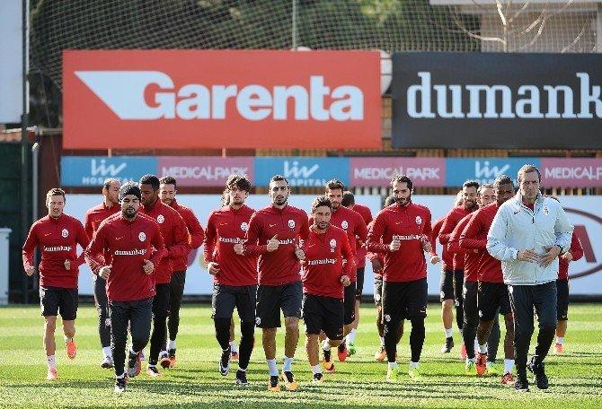 Galatasaray, Lazıo Maçı Hazırlıklarına Başladı