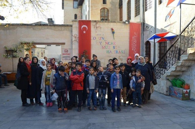 Yetim Çocukların Müze Keyfi