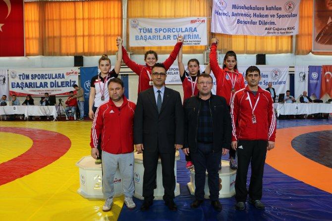 Genç Kadınlar Türkiye Şampiyonası sona erdi