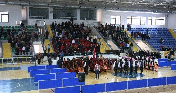 Rize'de Halk Oyunları İl Birinciliği Sona Erdi