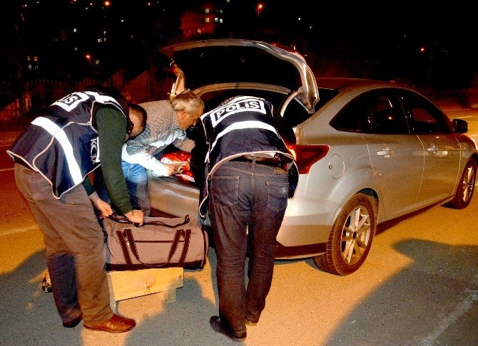 Giresun'da 450 Polisle Asayiş Uygulaması