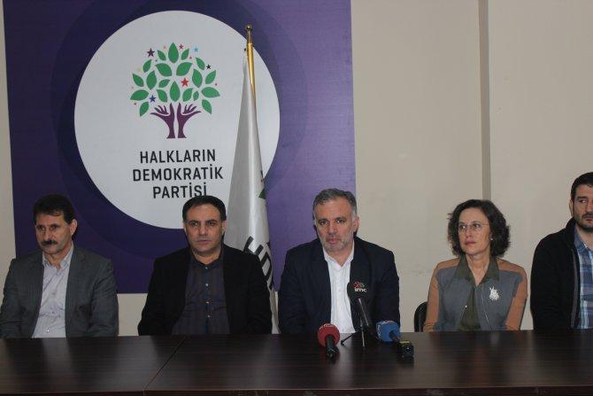HDP sözcüsü Bilgen'den hükümete: Enver Paşa yaklaşımını terk edin!