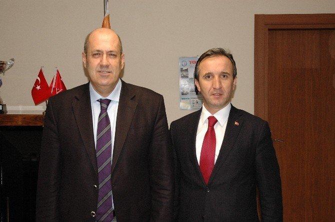 Hanönü Belediye Başkanı Uçar'dan Karayolları Bölge Müdürüne Ziyaret