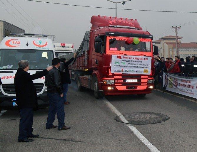 Kmtso'dan Bayırbucak Türkmenlerine Yardım