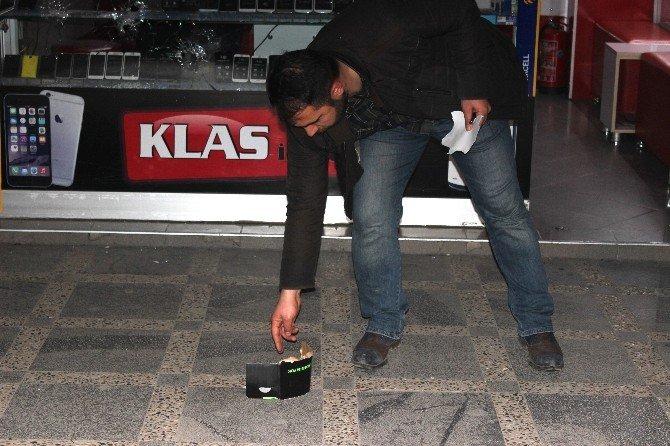 Kahramanmaraş'ta İşyeri Kurşunlandı
