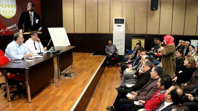 Rektör Polat, Sözleşmeli Personelin Sorunlarını Dinledi