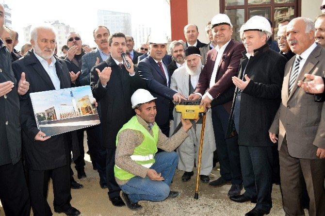 Olukbaşı Camisinin Temeli Törenle Atıldı