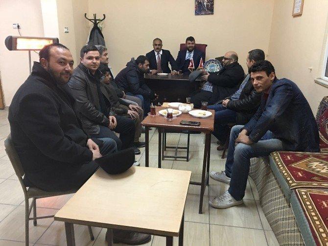 İl Başkanı Mahmut Kılınç Develi İlçe Başkanlığı Yönetim Kurulu Toplantısına Katıldı