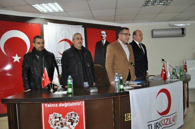 Kızılay Başkanı Gülen, Güven Tazeledi
