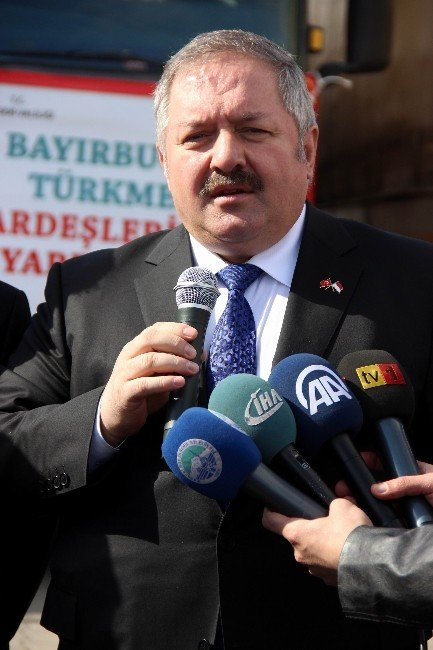 Kosb Öncülüğünde Toplanan 12 Tır'lık Yardım Konvoyu Türkmenler İçin Yola Çıktı