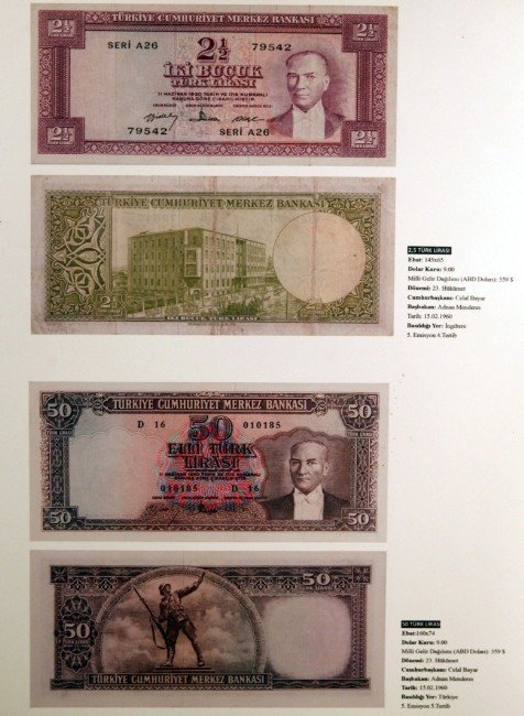 Paranın Tarihi Yolculuğu Bu Sergide