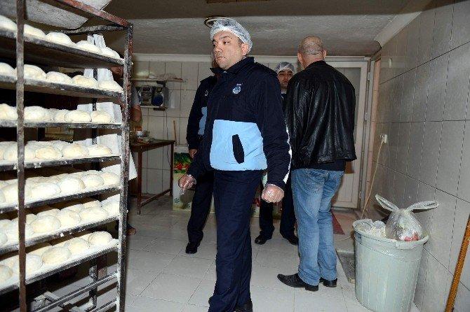 Kumluca'da Eksik Gramajlı Ekmek Operasyonu