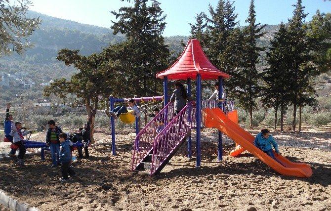 Silifke Belediye Başkanı Turgut'a Park Teşekkürü