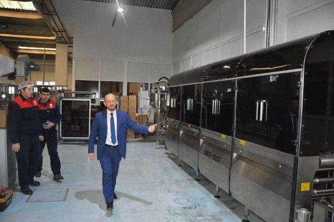 Başkan Özcan'dan Ayvaz Suyu Ziyareti