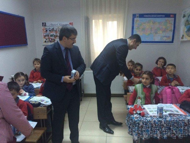 Havran'da Okul Sütü Uygulaması Başladı