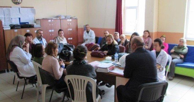 Burhaniye'de Okullara Müdür Ziyareti
