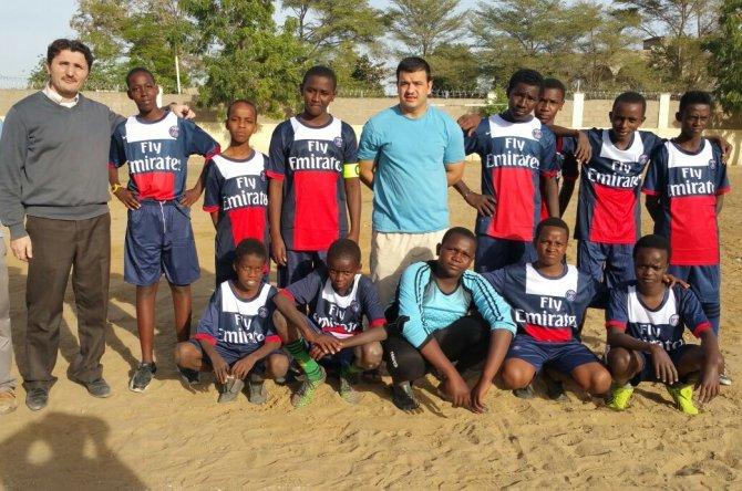 Çad-Türk okulundan futbol turnuvası