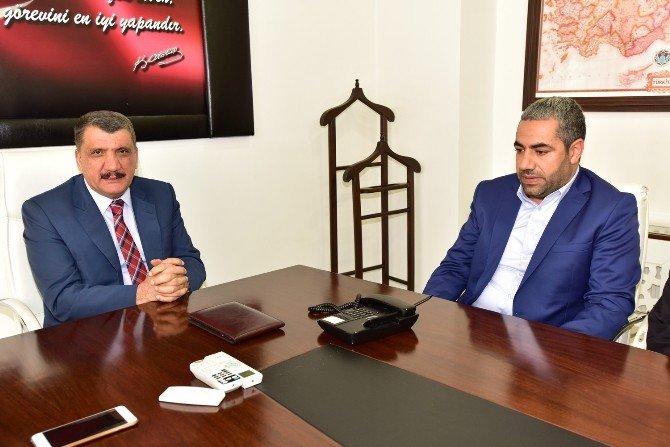Rışvanlılar Derneği'nden, Başkan Gürkan'a Ziyaret