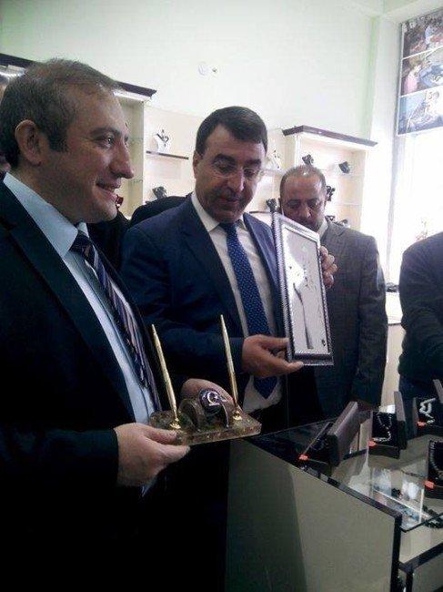 Sarıkamış Obsidyeni Tanıtım Ve Satış Ofisinin Açılışı Yapıldı