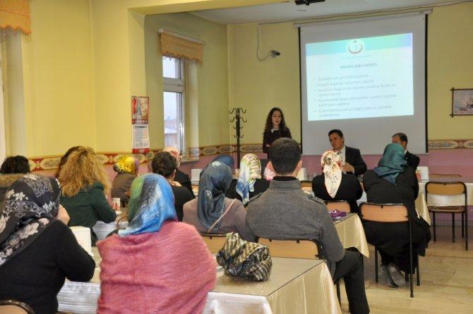 Sağlık çalışanlarına hasta iletişimi semineri