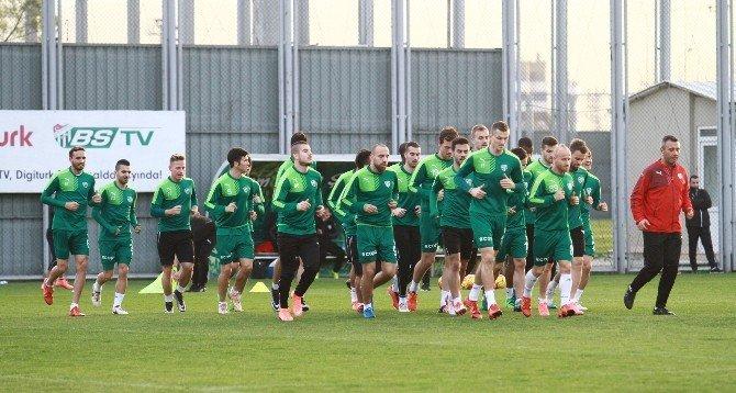 Bursaspor'da Fenerbahçe Hazırlıkları Başladı