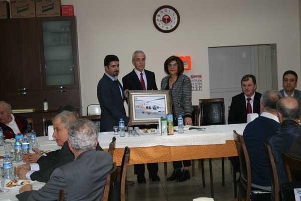 Talat Göktepe'nin Adı Yangın Söndürme Helikopterine Verildi
