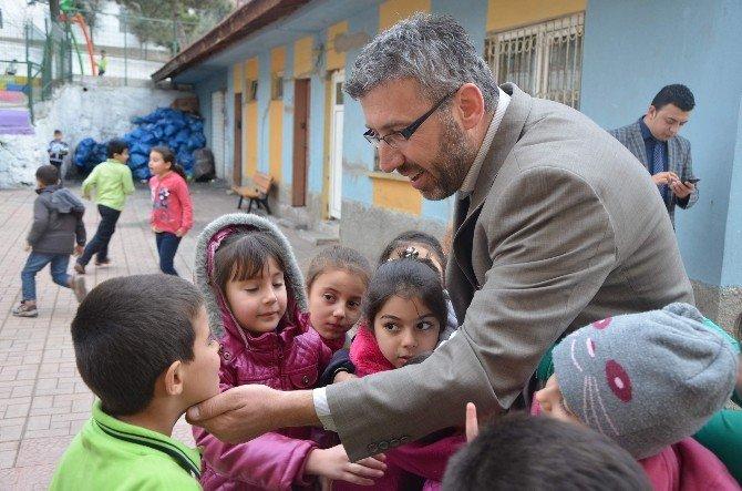 Başkan Güler'in Miniklerle Samimiyeti