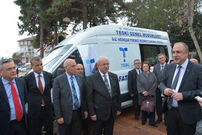 Teski Mobil Vezne Araçları Hizmete Alındı