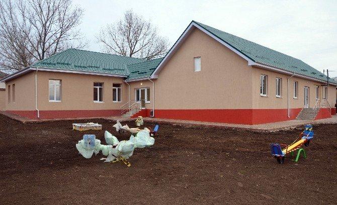 TİKA Desteğiyle Kıpçak'ta Hizmet Verecek Yeni Kreş 100 Çocuğa Kucak Açacak