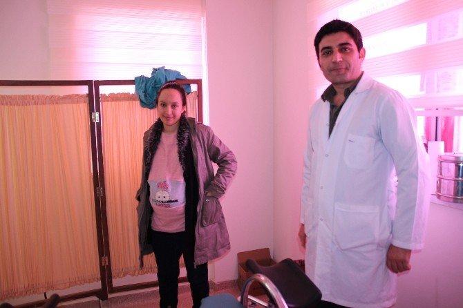Varto'ya Atanan Kadın Doğum Uzmanı Göreve Başladı