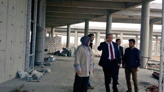 AK Parti Düzce Milletvekilleri Yatırımları İnceledi