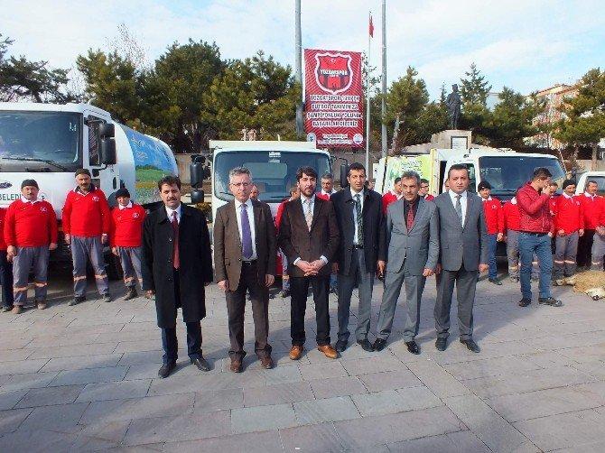 Yozgat Belediyesinden Temizlik Hizmetlerine 8 Araç Takviyesi