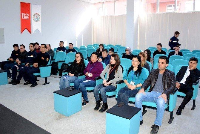 112 Acil Çağrı Merkezi'nde Görev Yapan Kurumlarla İstişare Toplantısı