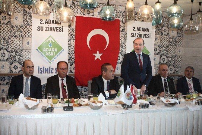 Adana Su Zirvesi 22 Mart'ta