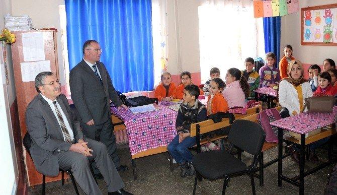 Ağrı'da Öğrencilere Okul Sütü Dağıtıldı