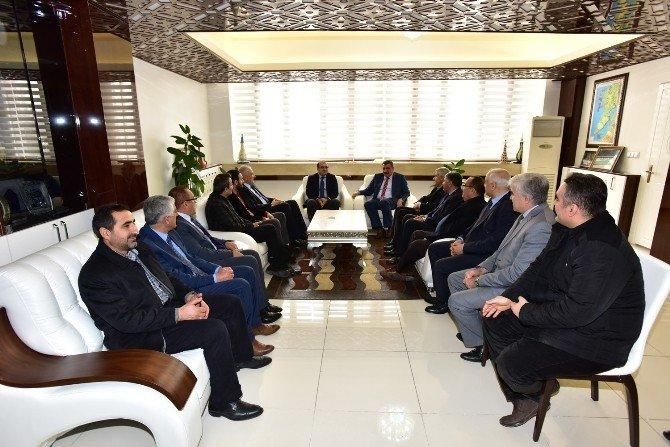 Milletvekili Özhan, Başkan Gürkan'ı Ziyaret Etti