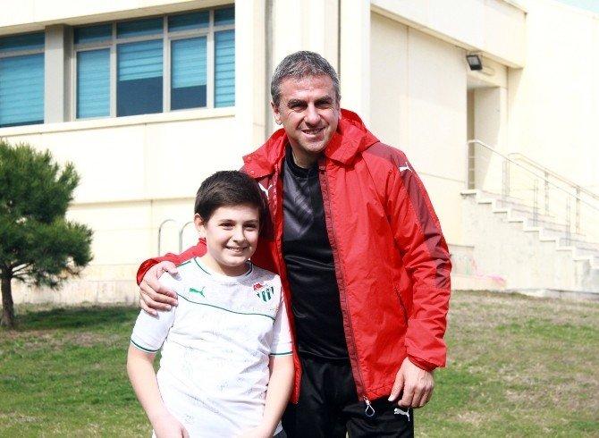 Bursaspor'da Serdar Ve Emre Sevinci