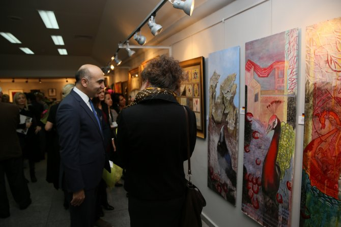 Uluslararası dostluk ve estetik resim sergisi açıldı
