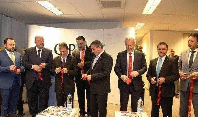 Başkan Kamil Saraçoğlu Brüksel'de