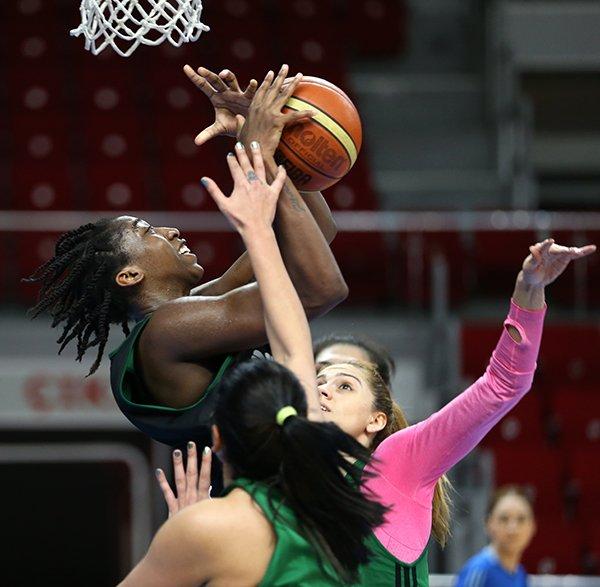 Basketbol A Milli Kadın Takımı çalışmalarını sürdürüyor