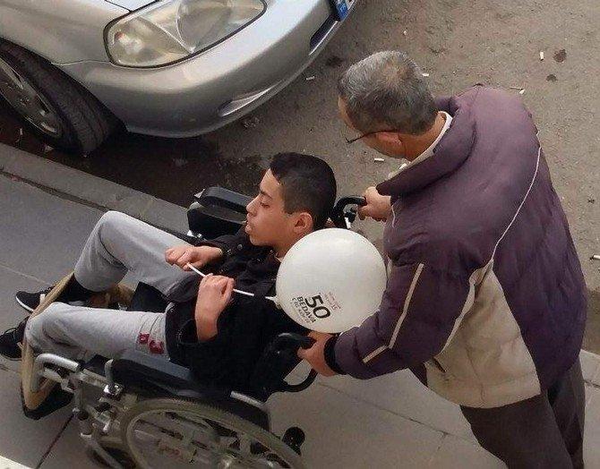 Bedensel Engelliler, Engellerini Kırşehir Belediyesi İle Kaldırdı