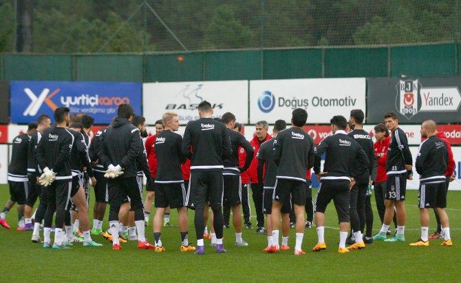 Beşiktaş'ta Mersin İdmanyurdu maçı hazırlıkları tamamlandı