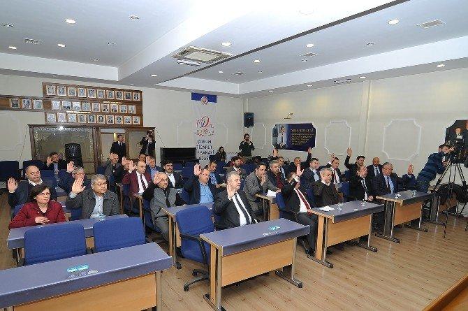 Çorum TSO Meclis Toplantısı