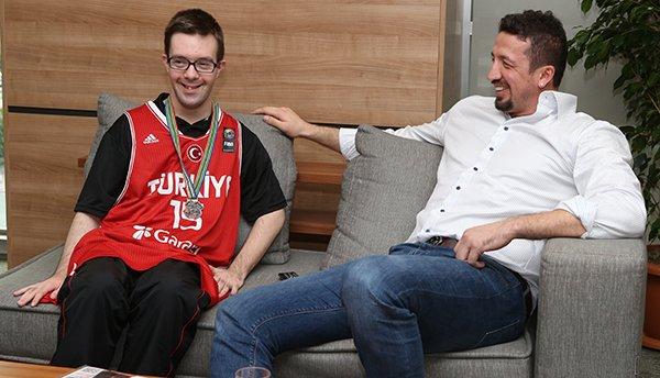 Türkiye Basketbol Federasyonu'nda duygusal buluşma