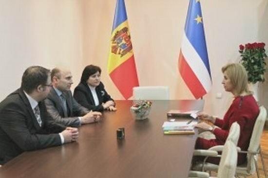 Öğretim Üyesi Hünerli, Gagauz Yeri Başkanı Vlah'ı Ziyaret Etti